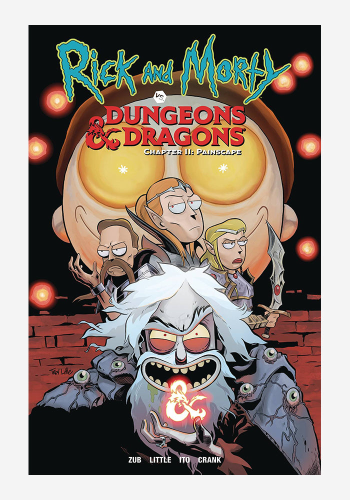 ONI PRESS Rick & Morty Vs. Dungeons & Dragons Chapter 2: Painscape Graphic Novel