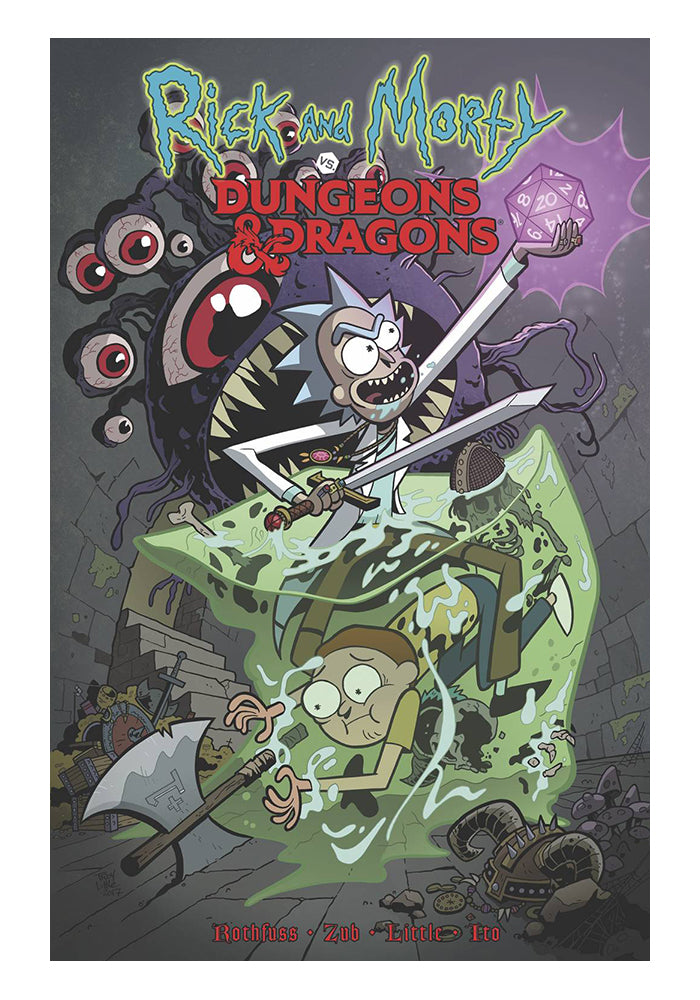 IDW PUBLISHING Rick & Morty Vs. Dungeons & Dragons Graphic Novel