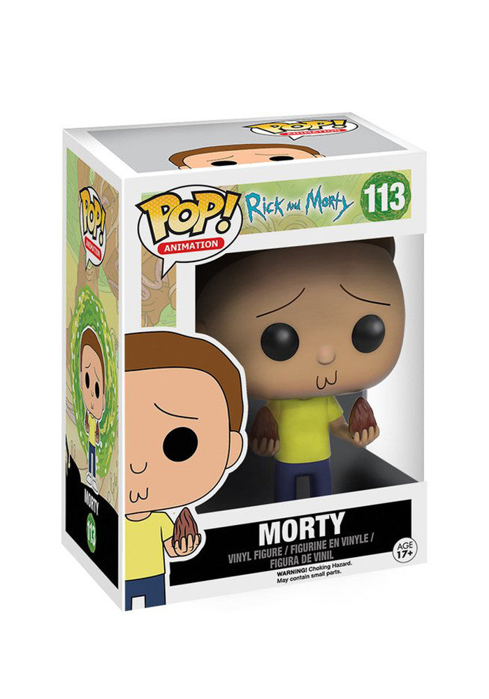 RICK AND MORTY Funko Pop! TV: Rick And Morty - Morty