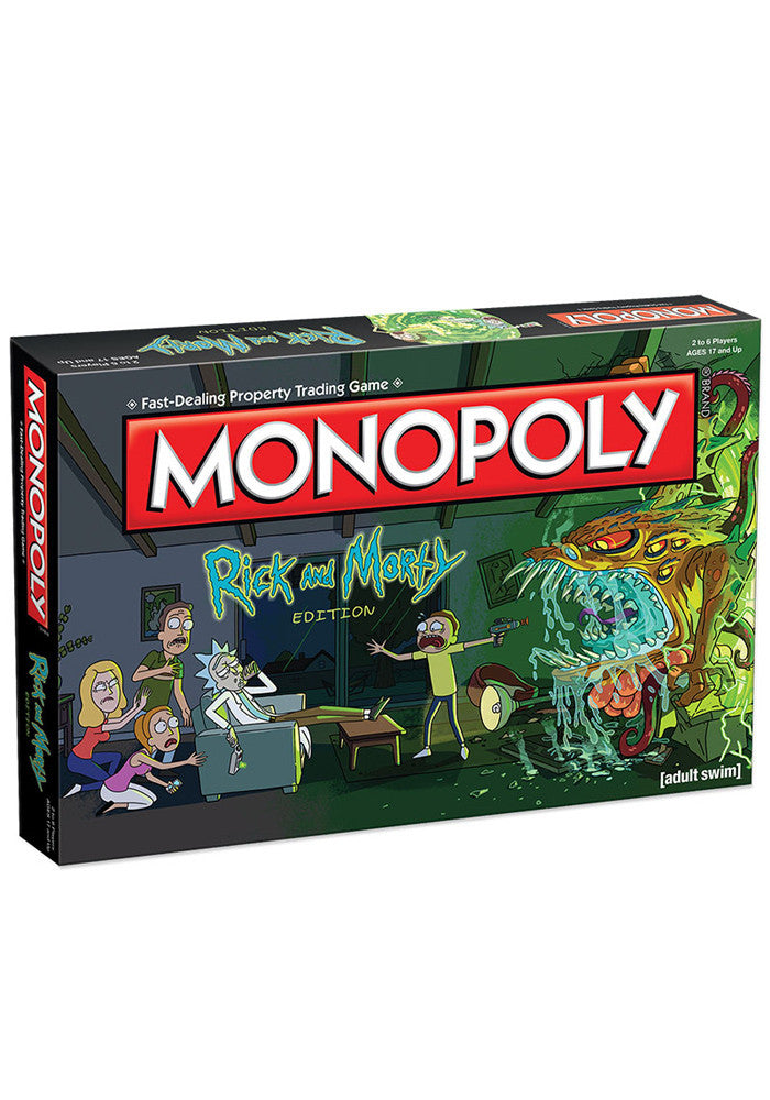 RICK AND MORTY Rick And Morty Monopoly