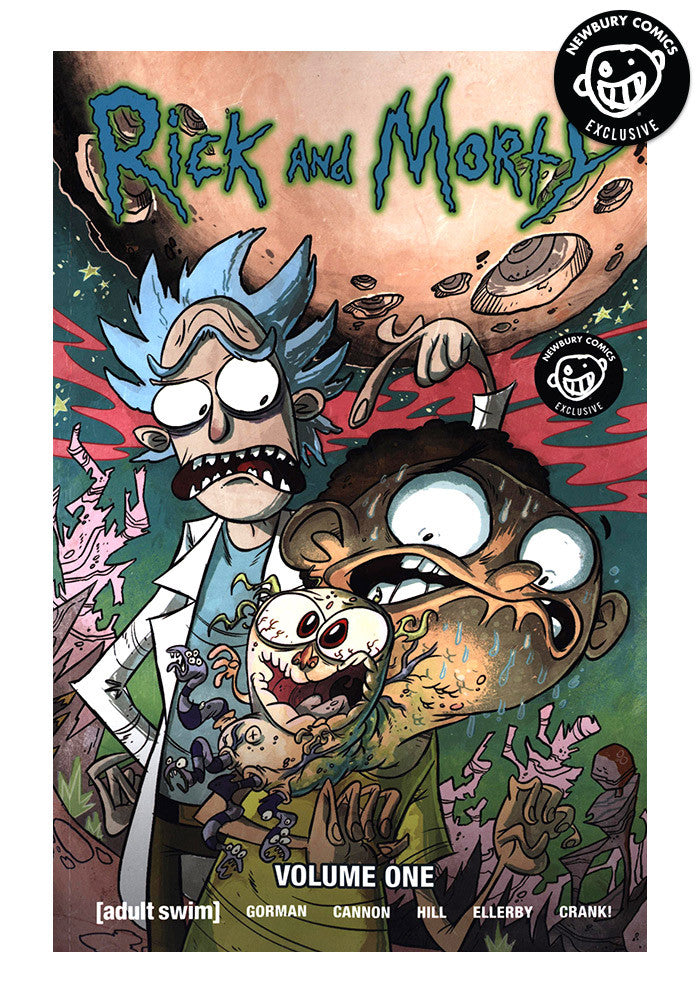 Character Design Graphic Novels : Oni press rick morty vol exclusive variant graphic