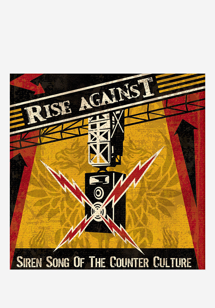RISE AGAINST Siren Song Of The Counter LP