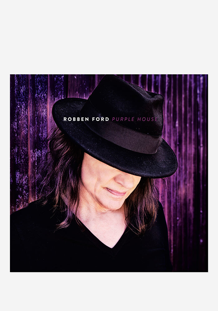 ROBBEN FORD Purple House CD With Autographed Booklet