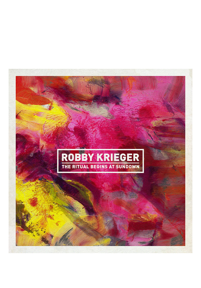 ROBBY KRIEGER The Ritual Begins At Sundown CD (Autographed)