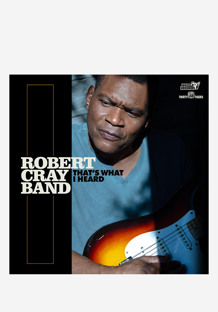 ROBERT CRAY That's What I Heard CD (Autographed)