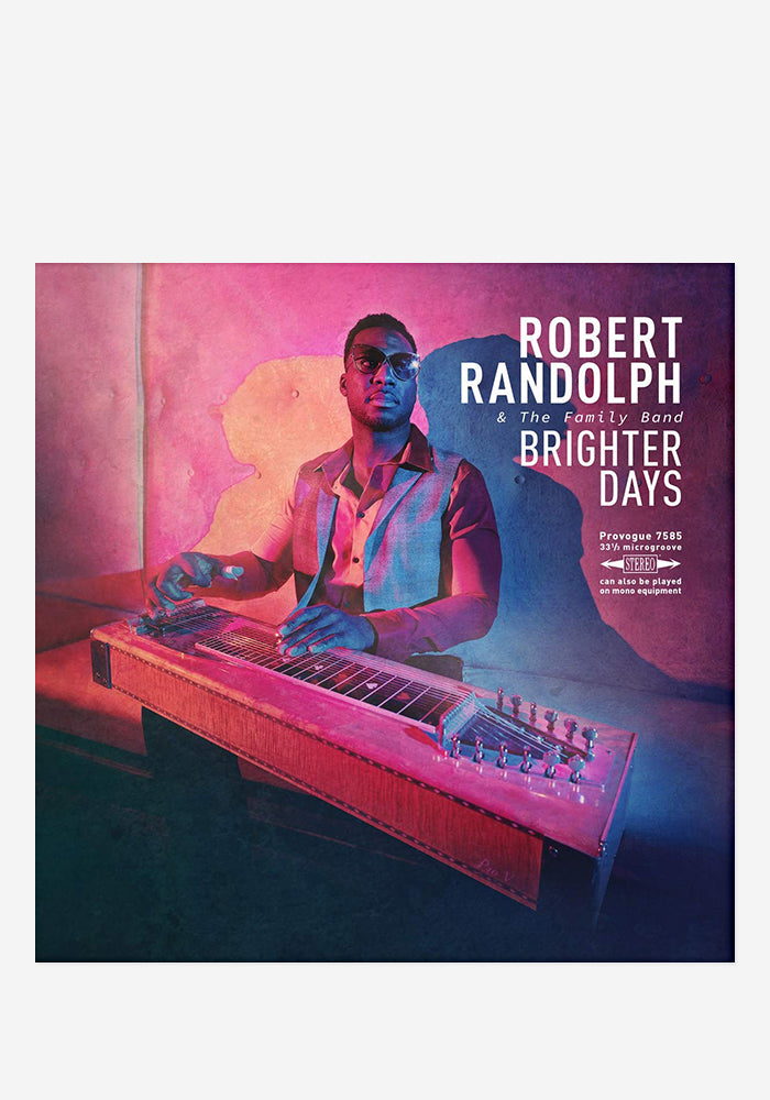 ROBERT RANDOLPH & THE FAMILY BAND Brighter Days LP (Color) With Autographed Vinyl Jacket