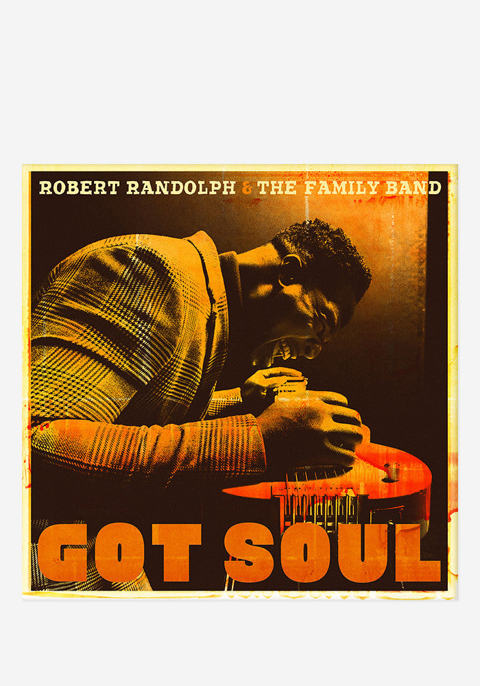 ROBERT RANDOLPH & THE FAMILY BAND Got Soul With Autographed CD Booklet