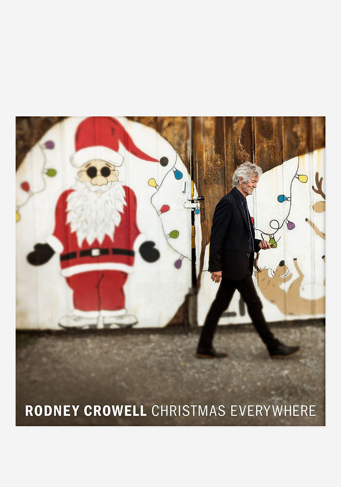 RODNEY CROWELL Christmas Everywhere CD With Autographed Booklet