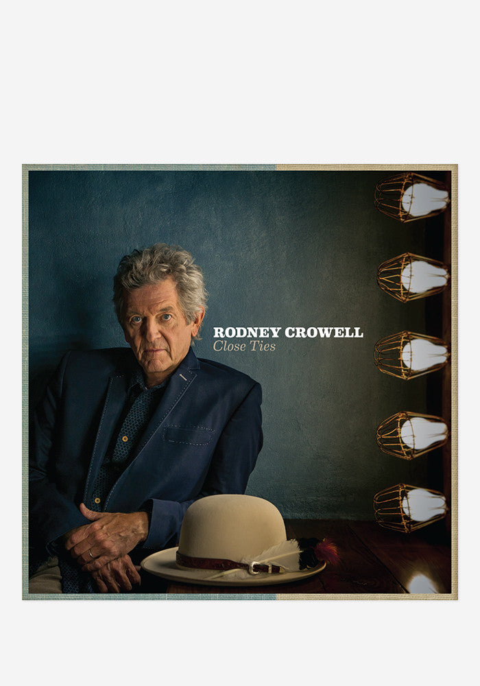 RODNEY CROWELL Close Ties With Autographed CD Booklet