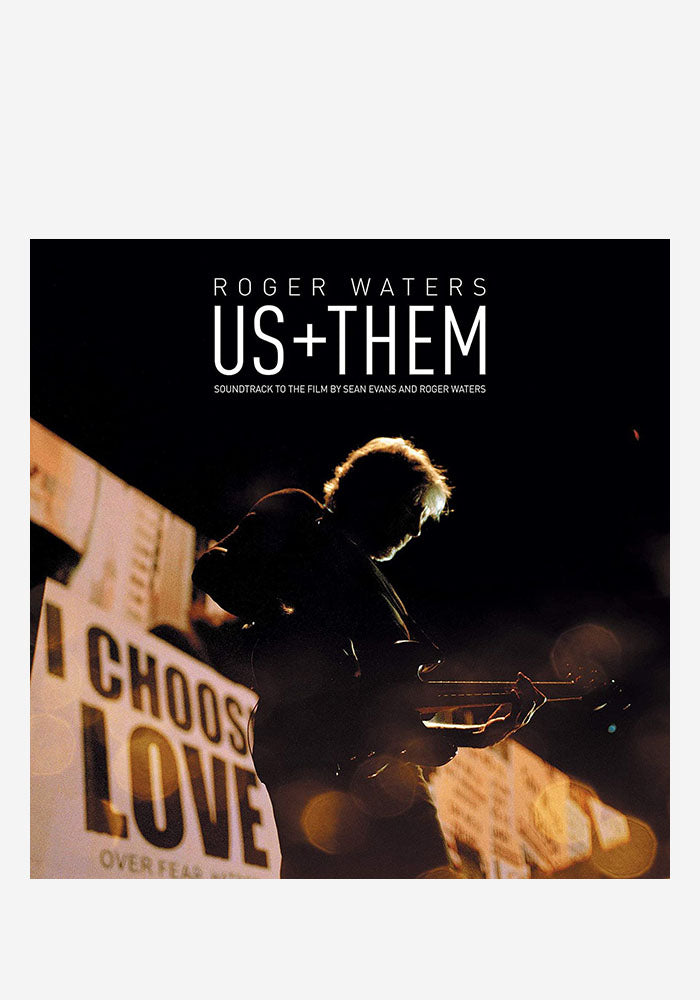ROGER WATERS Us + Them 3LP