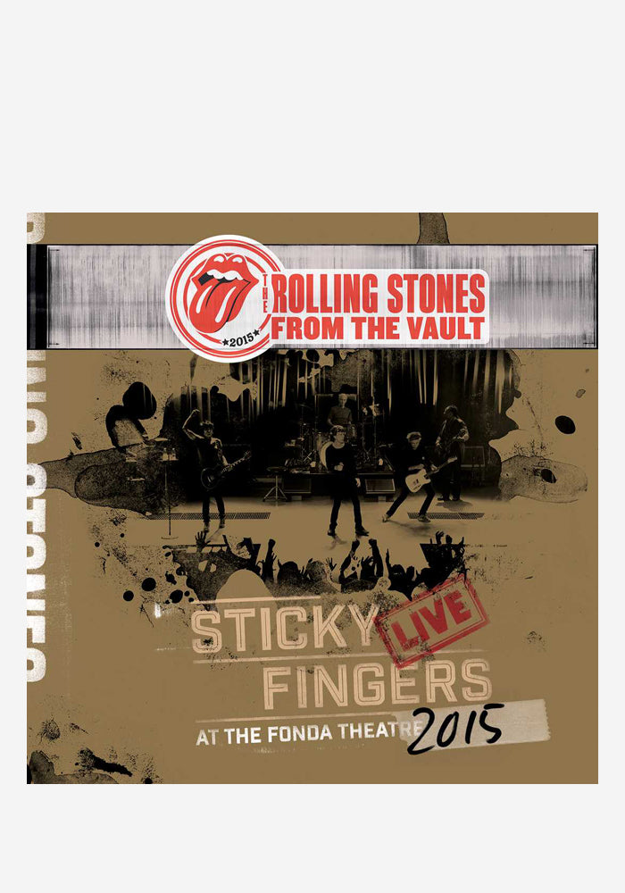 THE ROLLING STONES Sticky Fingers Live At The Fonda Theatre 3 LP + DVD