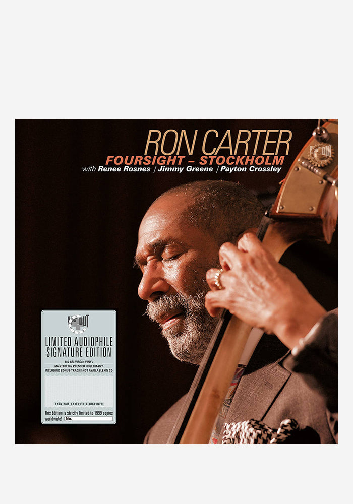 RON CARTER Foursight: Stockholm 2LP