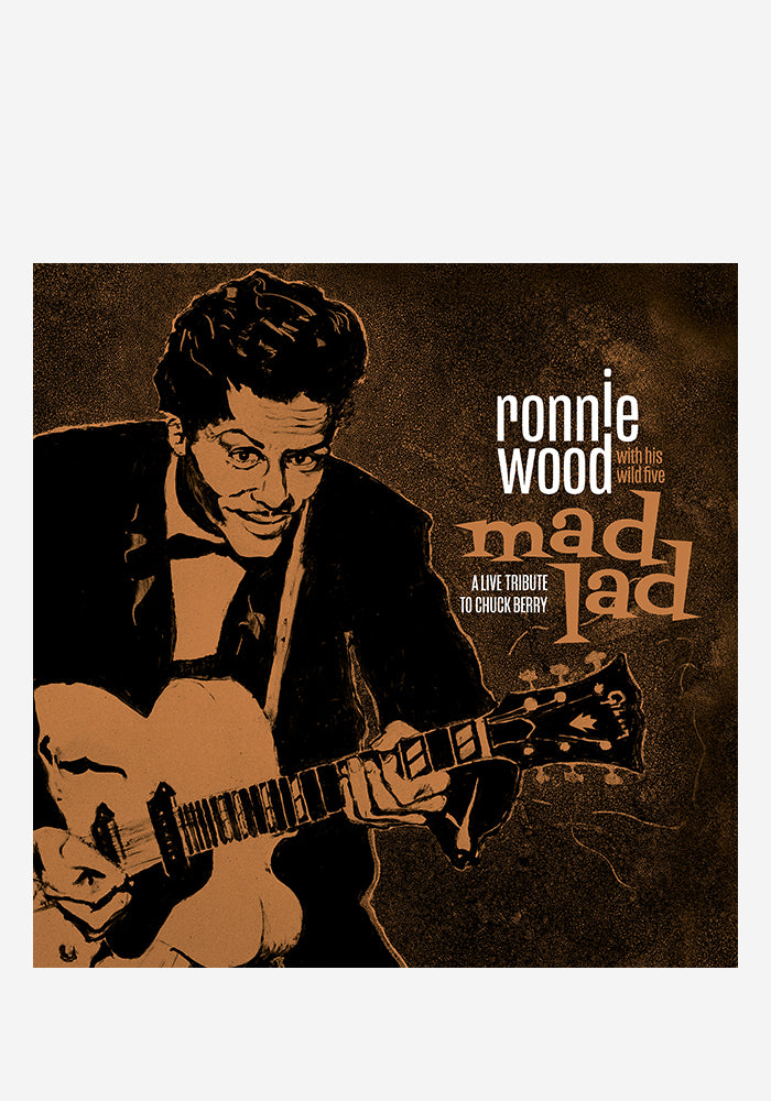 RONNIE WOOD WITH HIS WILD FIVE Mad Lad: A Live Tribute To Chuck Berry LP