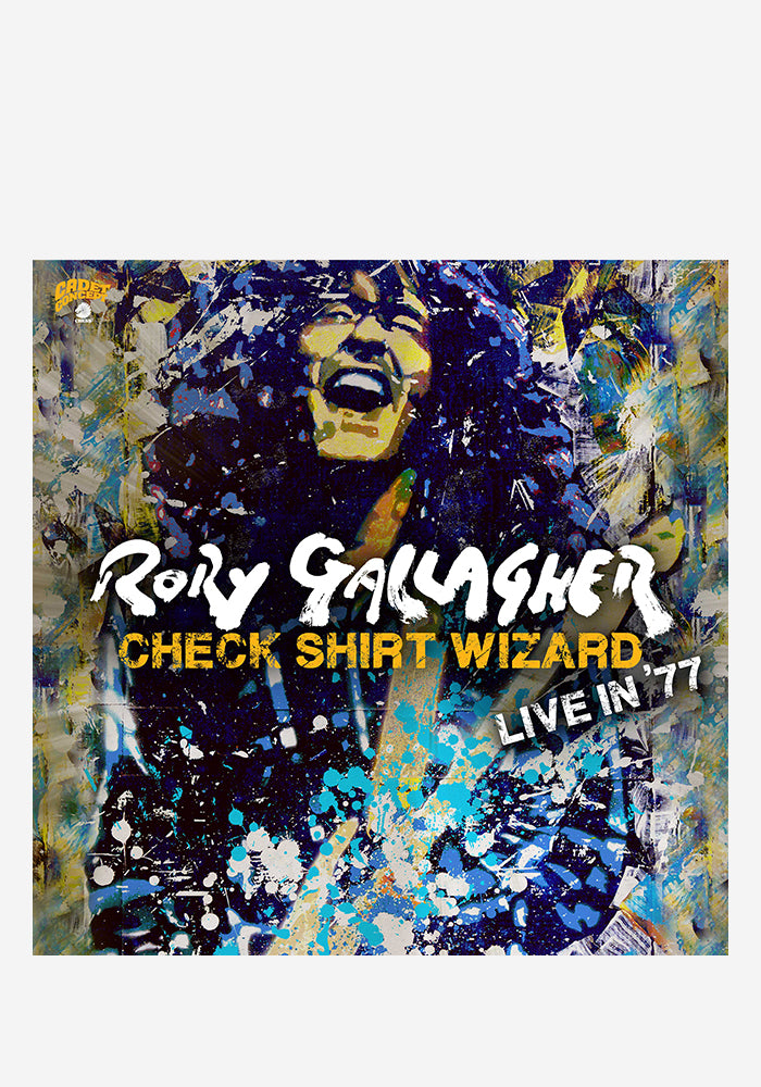 RORY GALLAGHER Check Shirt Wizard: Live In '77 3LP