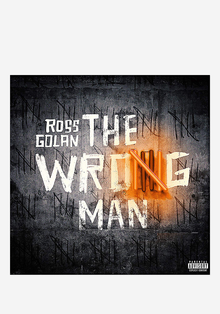 ROSS GOLAN The Wrong Man CD (Autographed)