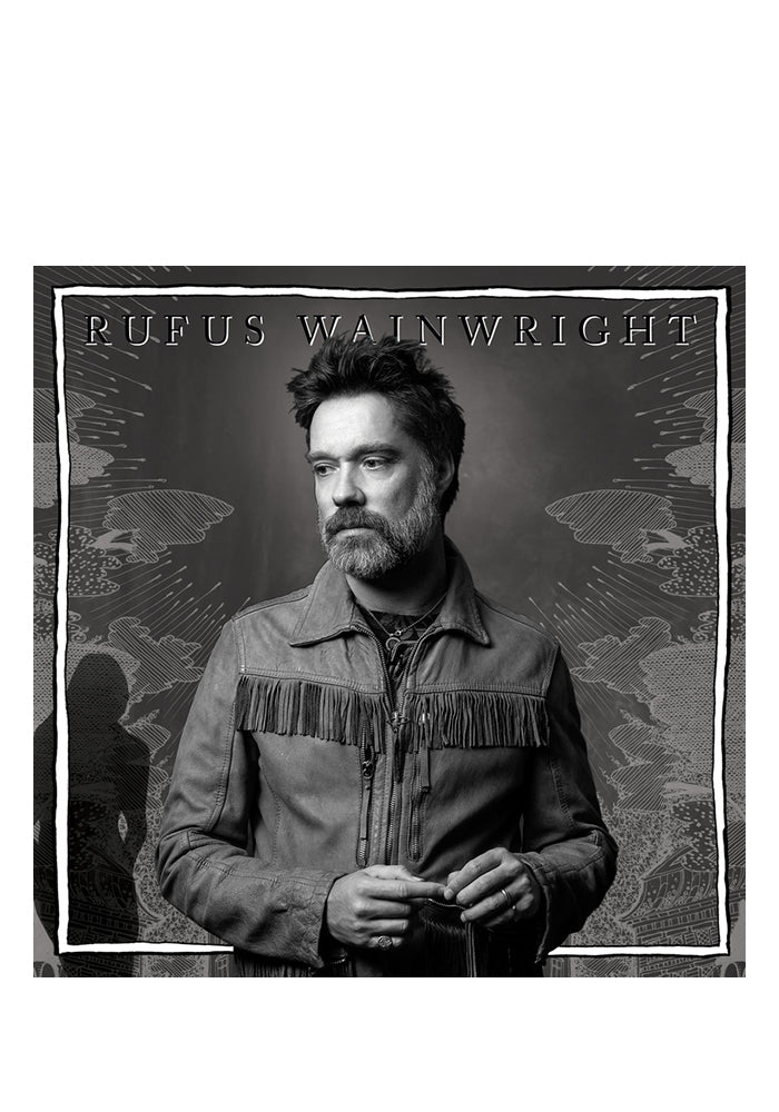 RUFUS WAINWRIGHT Unfollow The Rules CD (Autographed)