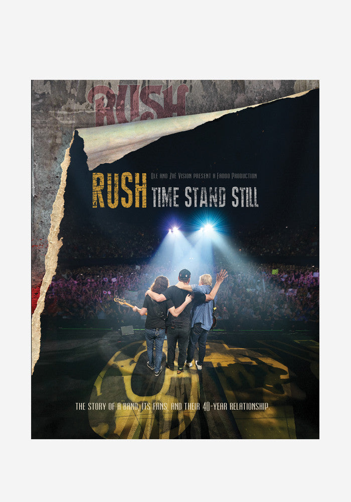 RUSH Time Stand Still With Autographed DVD Booklet