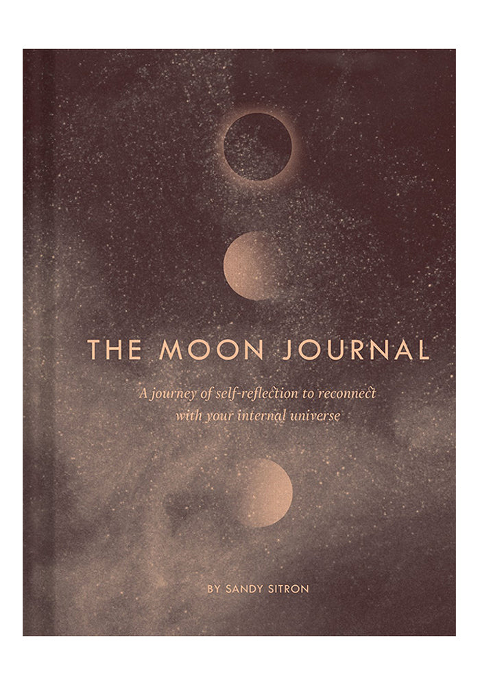 SANDY SITRON The Moon Journal: A Journey Of Self-Reflection Through The Astrological Year