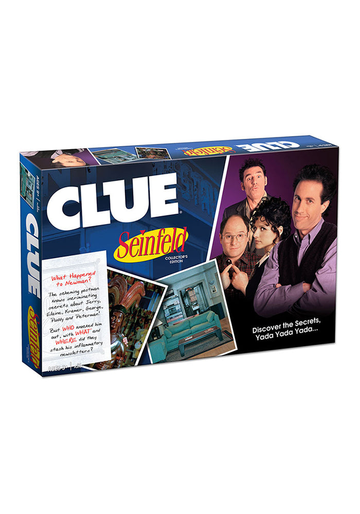 SEINFELD Clue: Seinfeld Edition Board Game