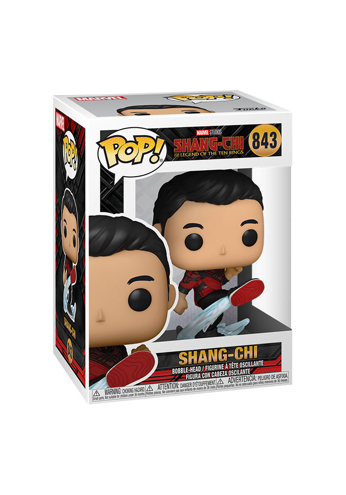 SHANG-CHI AND THE LEGEND OF THE TEN RINGS Funko Pop! Marvel: Shang-Chi and the Legend of the Ten Rings - Shang-Chi (Kicking)