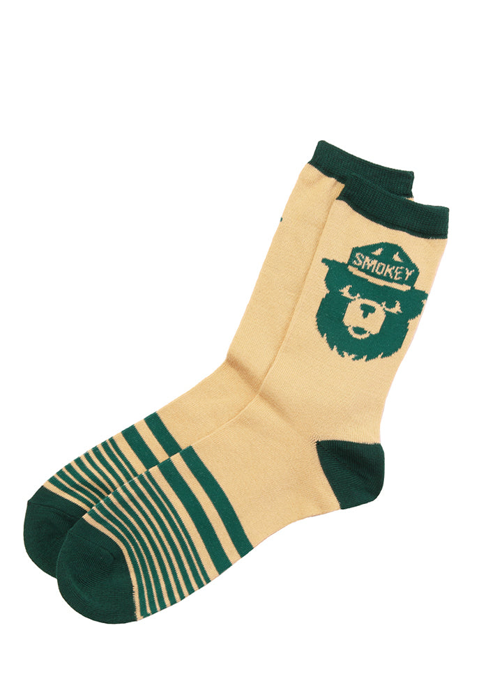 SMOKEY THE BEAR Smokey The Bear Striped Socks