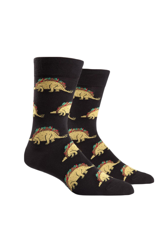 SOCK IT TO ME Tacosaurus Socks