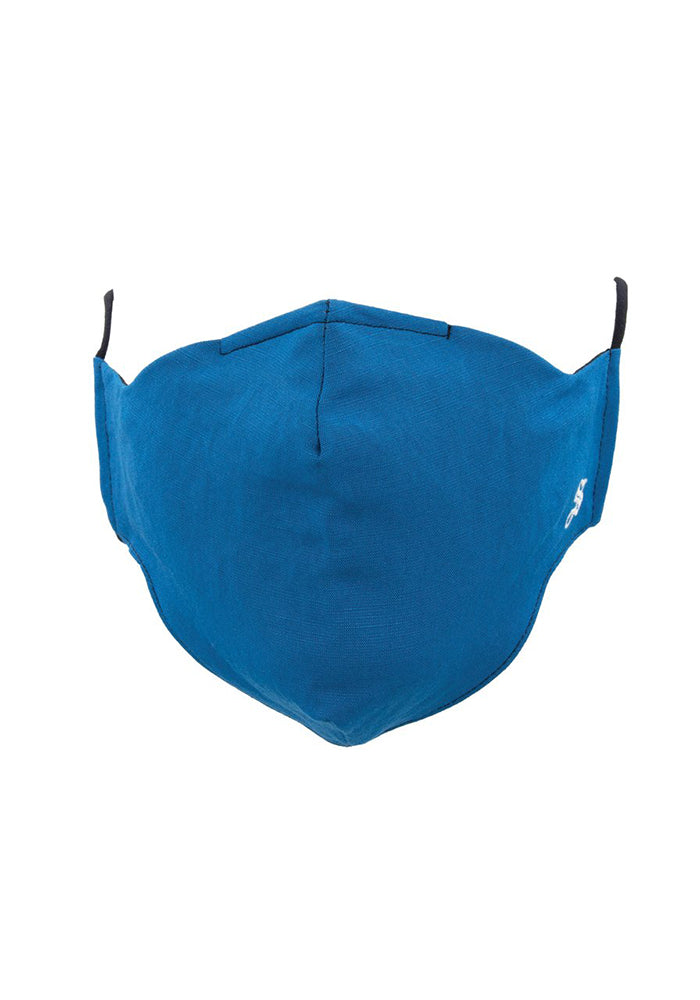SOCKSMITH Solid Face Mask - Blue