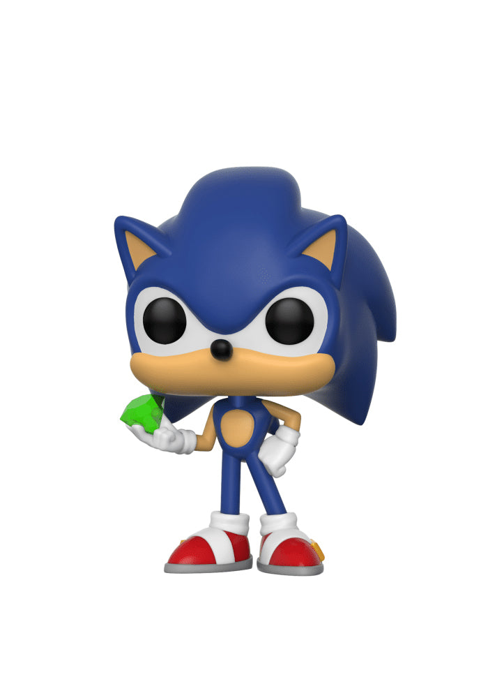 SONIC THE HEDGEHOG Funko Pop! Games: Sonic The Hedgehog - Sonic With Emerald