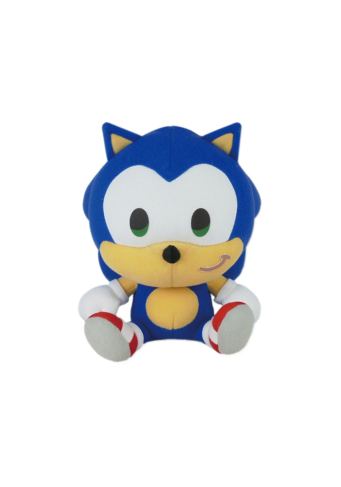 Sonic The Hedgehog Sonic Sitting 7 Inch Plush Newbury Comics
