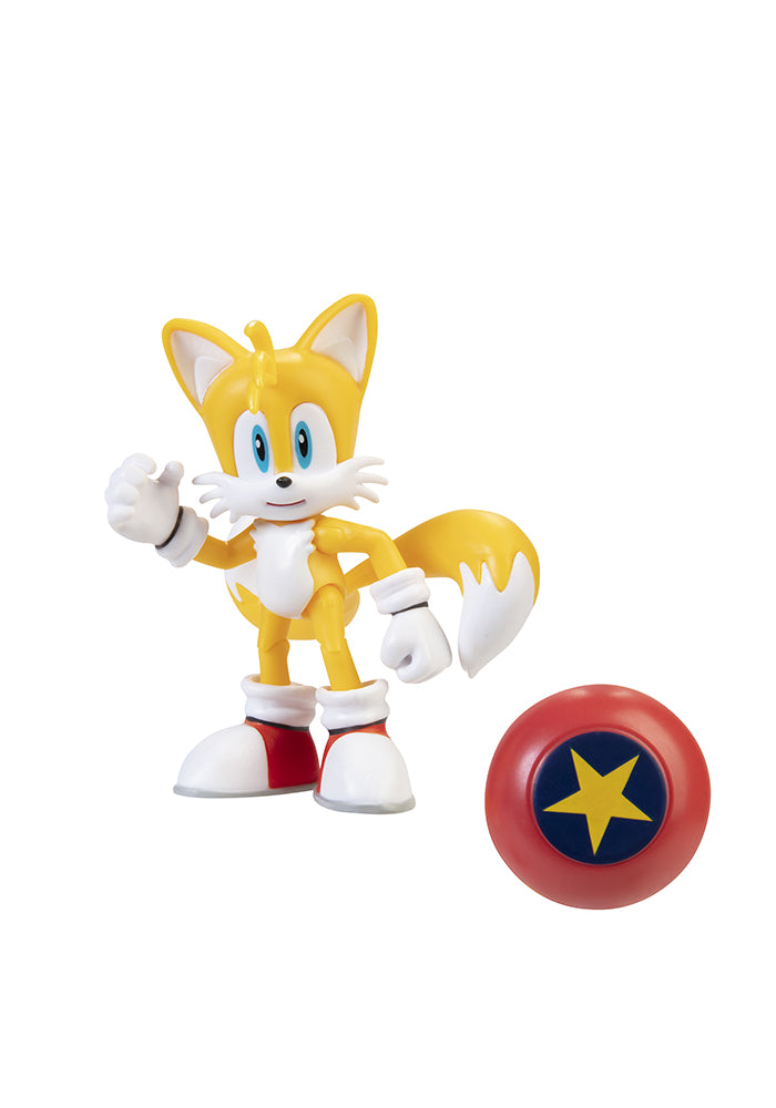 SONIC THE HEDGEHOG Sonic The Hedgehog 4-Inch Action Figure - Modern Tails