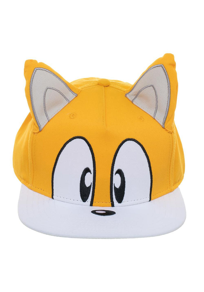 SONIC THE HEDGEHOG Tails Big Face Snapback Hat