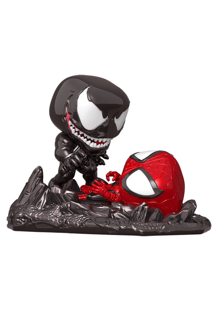 SPIDER-MAN Funko Pop! Marvel Comics Moments: Venom Vs. Spider-Man