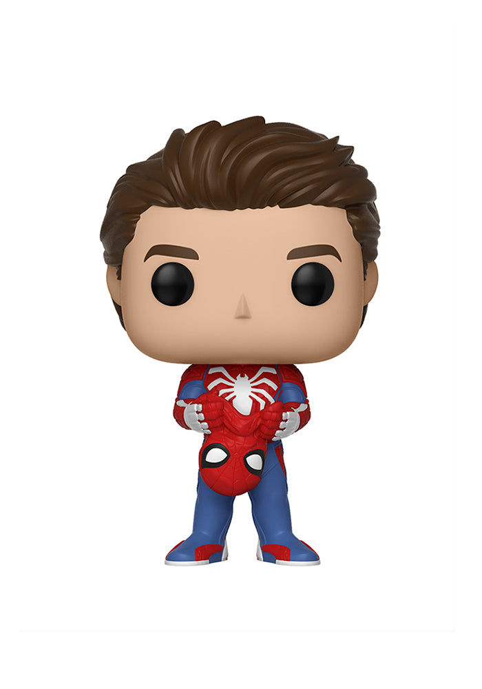 SPIDER-MAN Funko Pop! Marvel: Spider-Man Game - PS4 Spider-Man Unmasked
