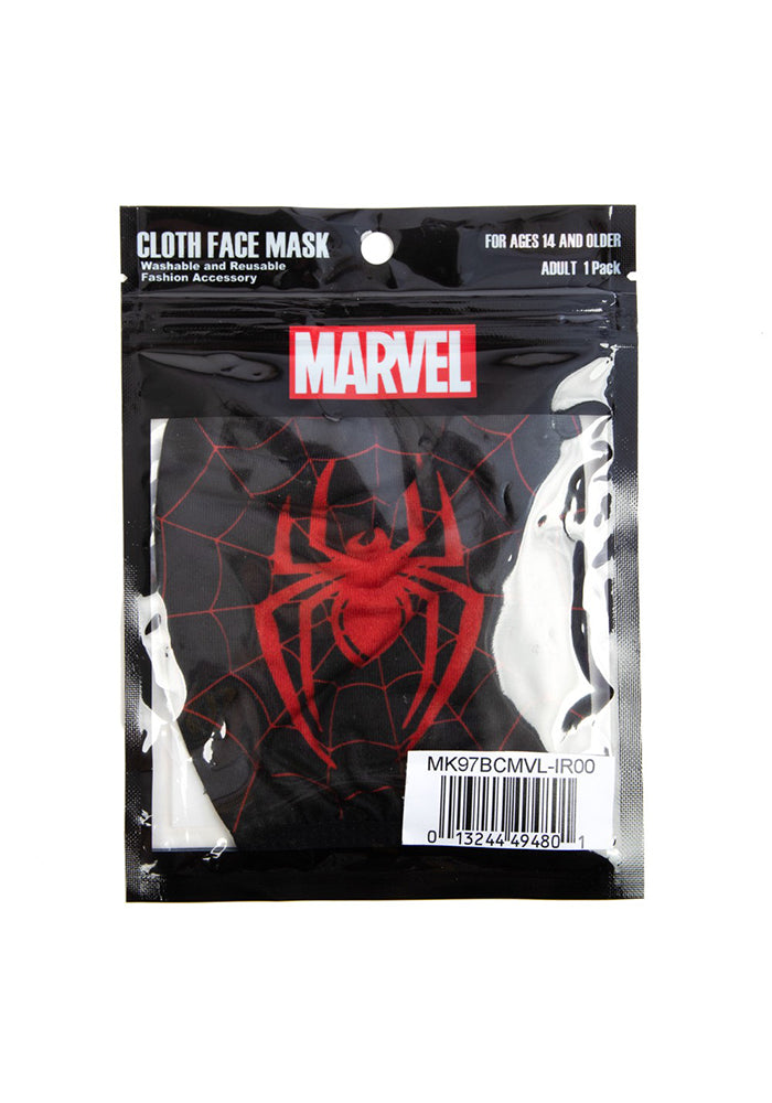 SPIDER-MAN Marvel Miles Morales Spider Logo Face Mask