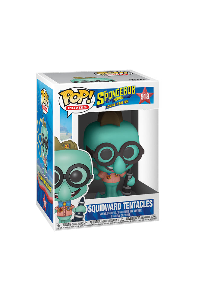 SPONGEBOB SQUAREPANTS Funko Pop! Movies: The Spongebob Movie - Squidward Tentacles