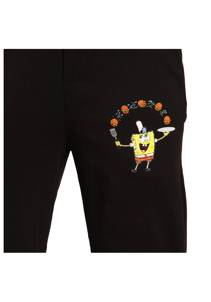 SPONGEBOB SQUAREPANTS Krabby Patty Fry Cook Pajama Pants