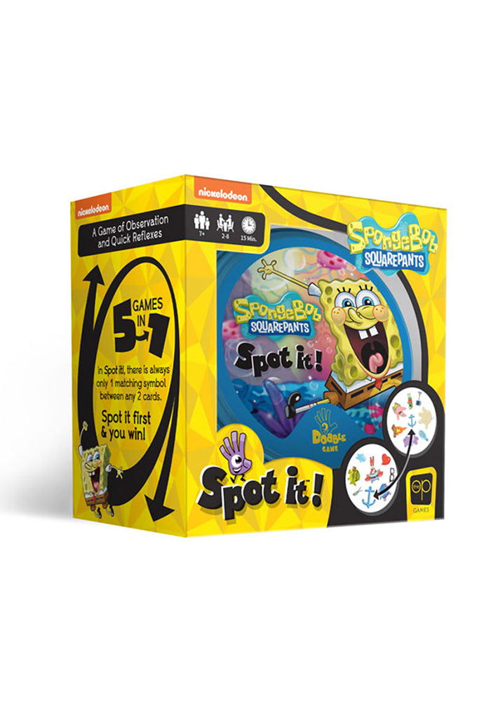 SPONGEBOB SQUAREPANTS SPOT IT! SpongeBob SquarePants Edition Game