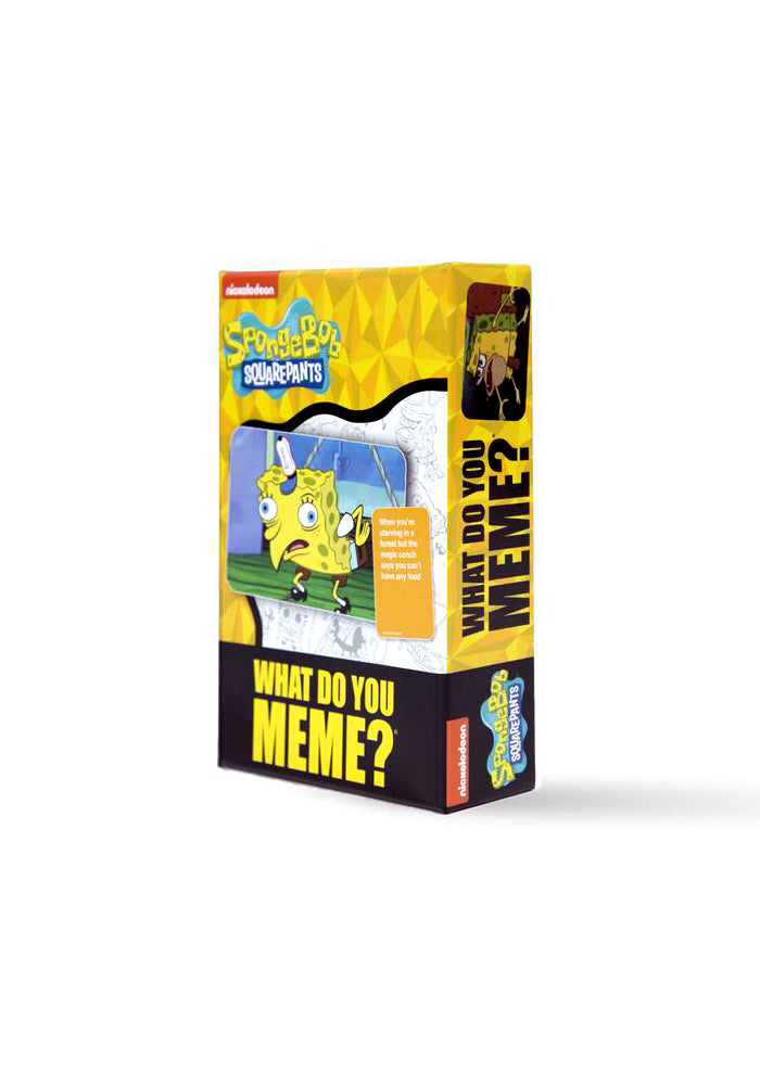 SPONGEBOB SQUAREPANTS What Do You Meme Game: SpongeBob SquarePants Expansion Pack