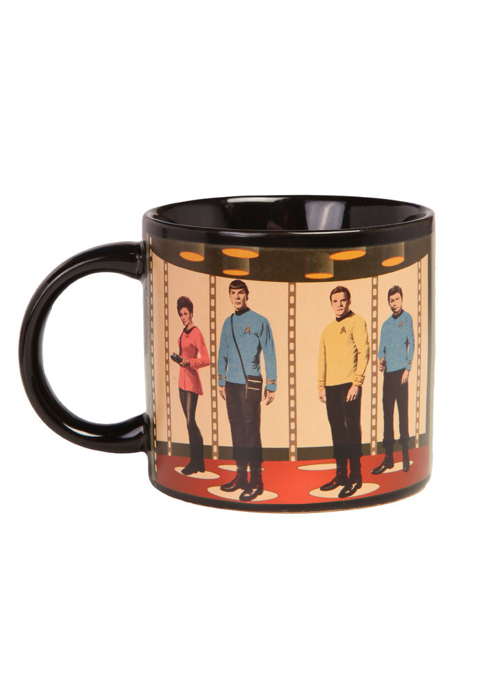 STAR TREK Transporter Heat Changing Mug