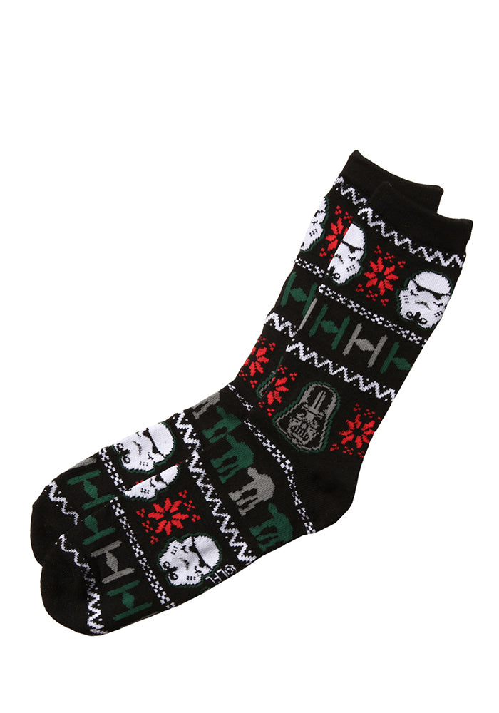 STAR WARS Galactic Empire Forces Holiday Sweater Socks