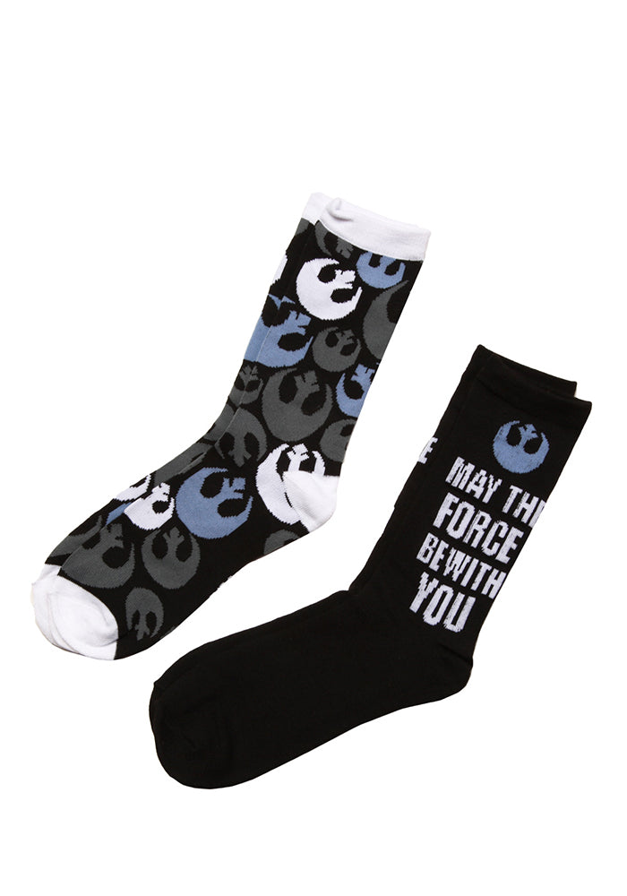 STAR WARS May The Force Be With You Socks - 2-Pack