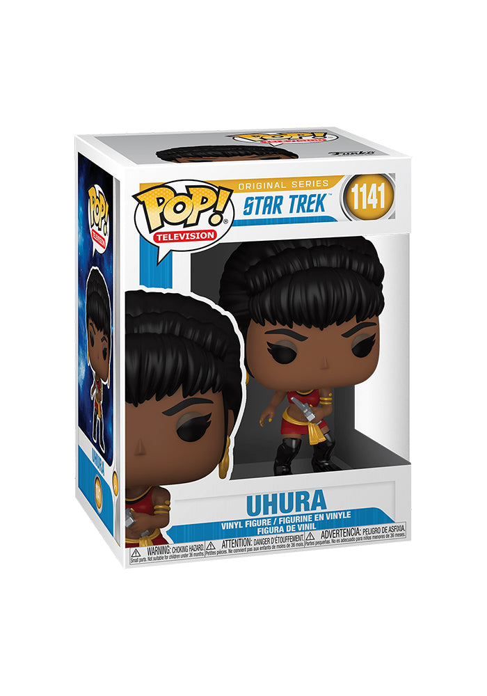 STAR TREK Funko Pop! Television: Star Trek: The Original Series - Uhura (Mirror, Mirror)