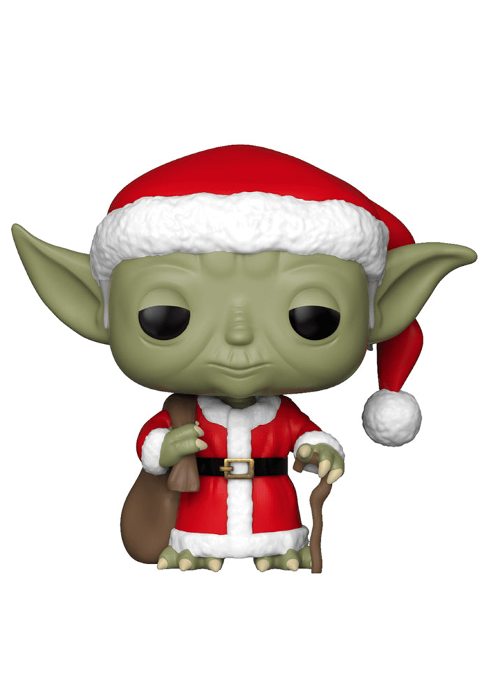 STAR WARS Funko Pop! Star Wars: Holiday - Santa Yoda Bobblehead