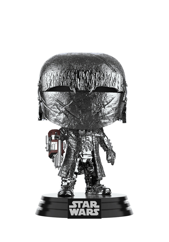 STAR WARS Funko Pop! Star Wars: The Rise Of Skywalker - Knights Of Ren Arm Cannon Chrome Bobblehead