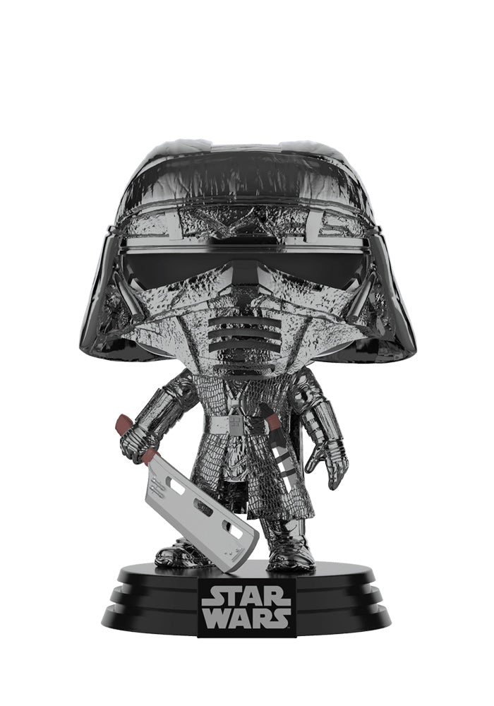 STAR WARS Funko Pop! Star Wars: The Rise Of Skywalker - Knights Of Ren Heavy Blade Chrome Bobblehead