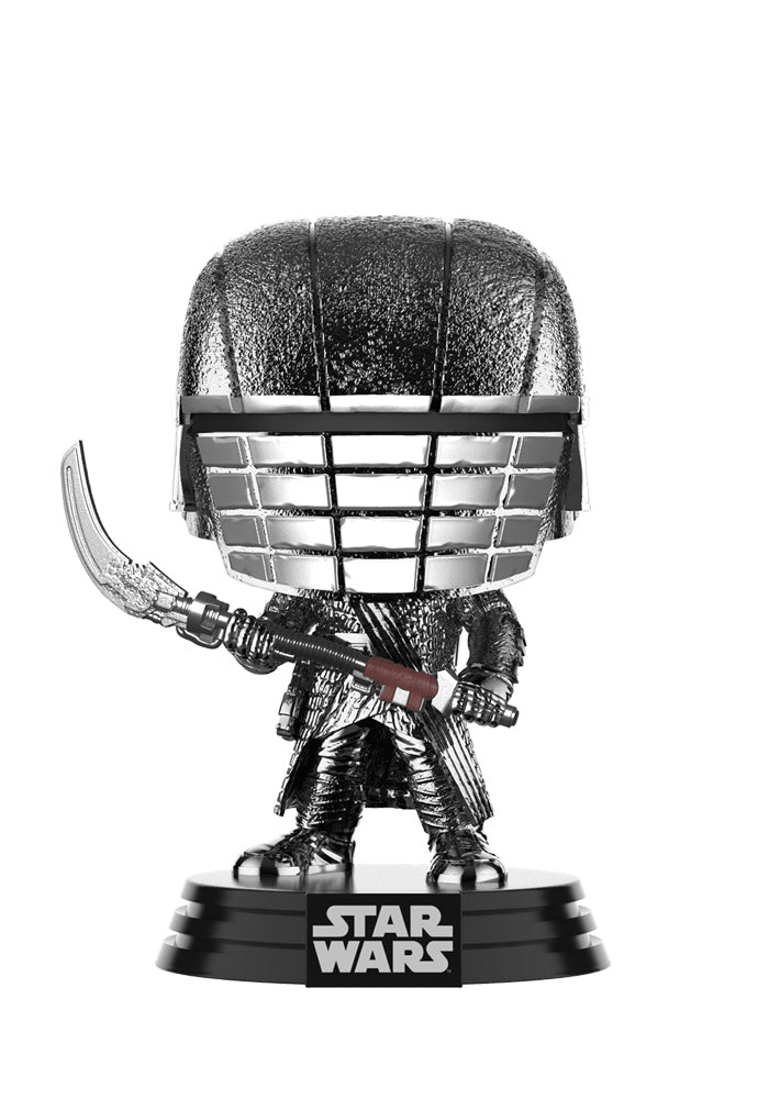 STAR WARS Funko Pop! Star Wars: The Rise Of Skywalker - Knights Of Ren Scythe Chrome Bobblehead