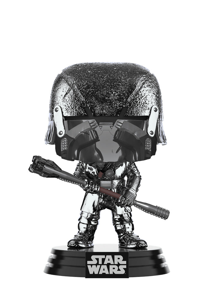 STAR WARS Funko Pop! Star Wars: The Rise Of Skywalker - Knights Of Ren War Club Chrome Bobblehead