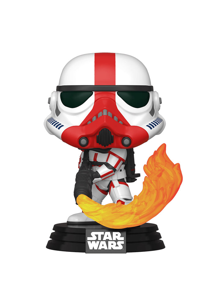 STAR WARS Funko Pop! Star Wars: The Mandalorian - Incinerator Stormtrooper