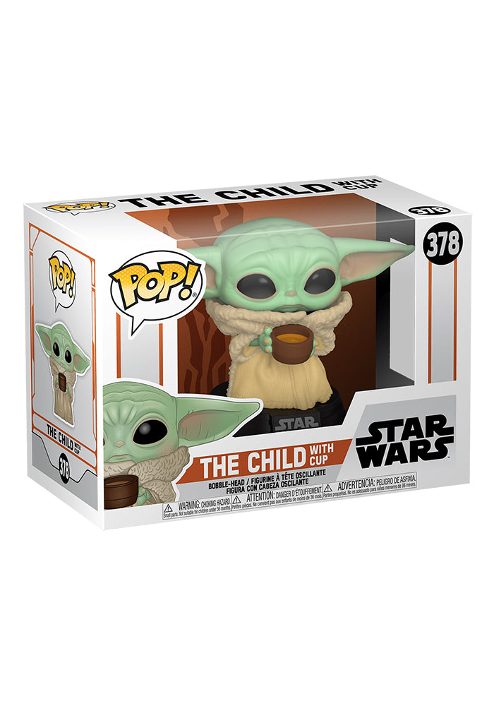 STAR WARS Funko Pop! Star Wars: The Mandalorian - The Child With Cup