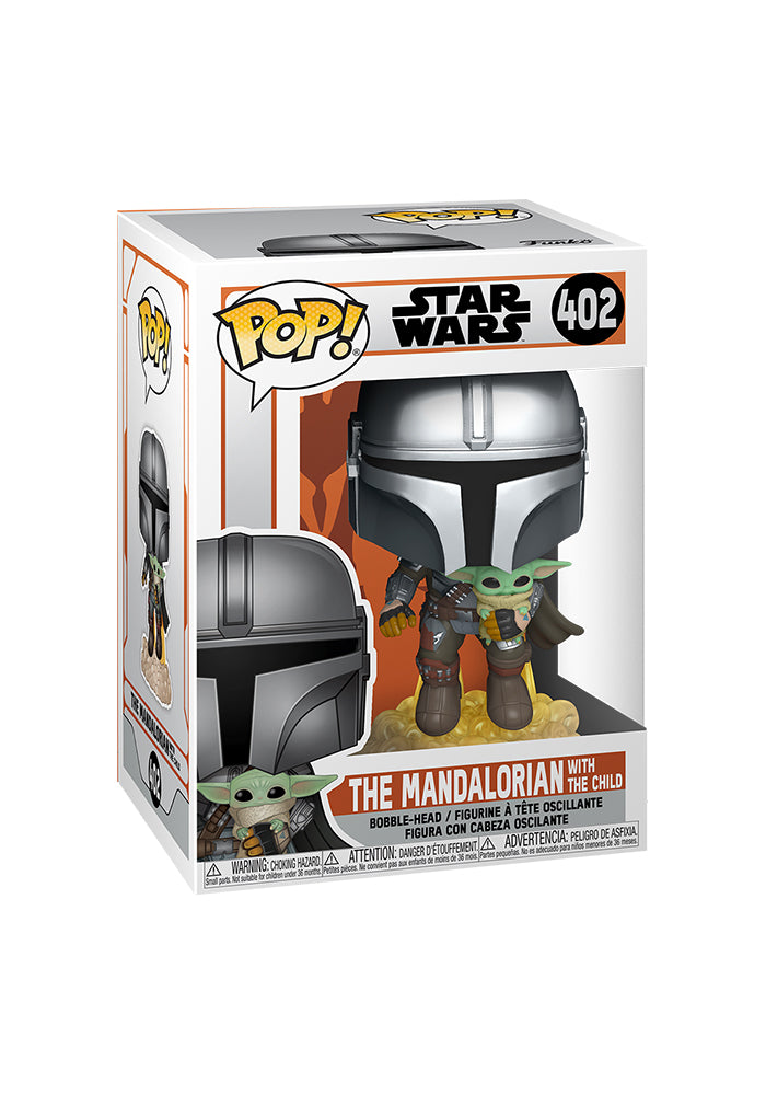 STAR WARS Funko Pop! Star Wars: The Mandalorian - The Mandalorian With Jetpack